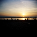 Kuta beach, 16 minutes before dusk